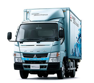 The new Fuso Eco Hybrid