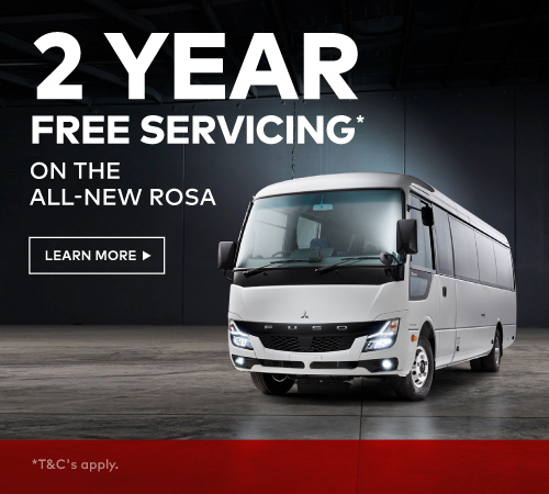 2 Years Free Servicing On The All New Rosa