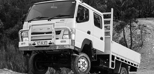 Image of 4x4 Range vehicle
