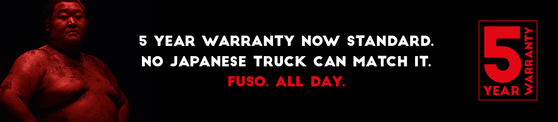5 Year Warranty now standard. No Japanese truck can match it.