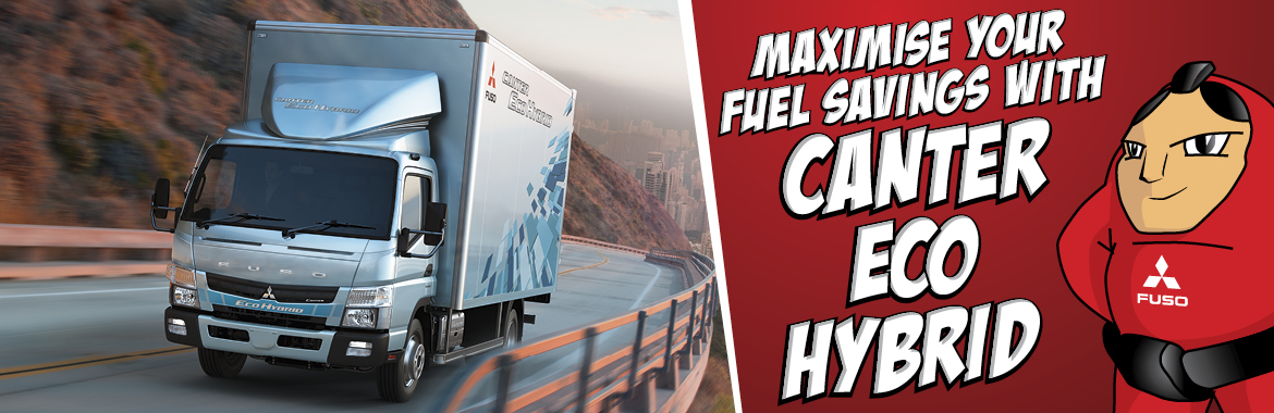 Maximise your fuel savings with new Canter Eco Hybrid