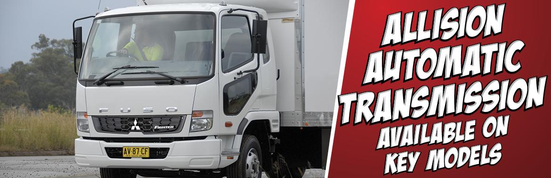 Allison automatic transmission available on key models