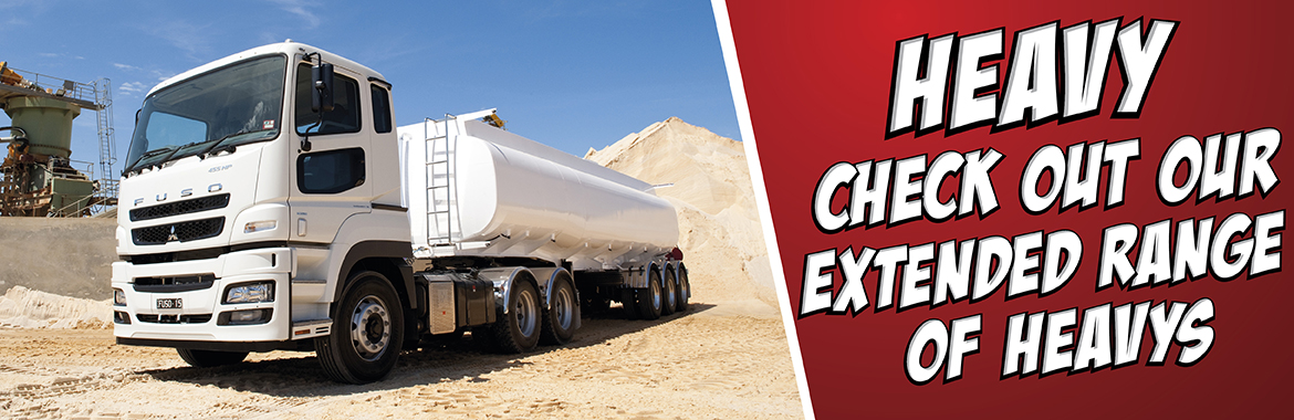 Check out our extended range of Heavy Duty trucks